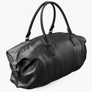 3D bag luggage fashion model