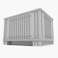 commercial highrise model