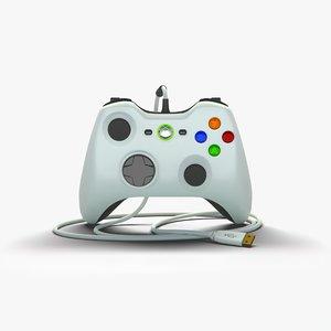 xbox controller 3D model