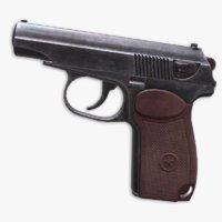 pistol 3D model