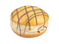 3D photorealistic scanned filled doughnut model