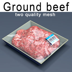 ground meat model