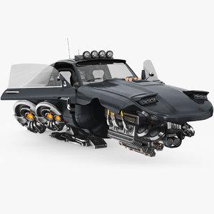 3D car future model