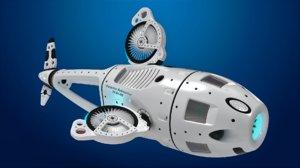 3D submarine waterloo