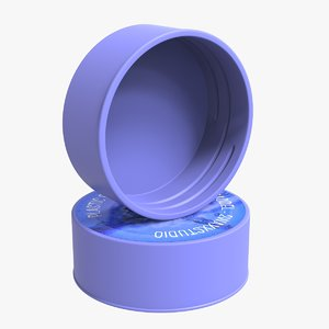 plastic screw cap model