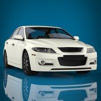 luxury car materials 3D