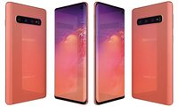 samsung galaxy s10 flamingo 3D model