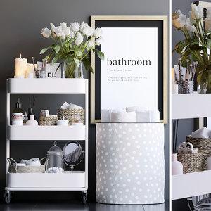 decorative bathroom 3D