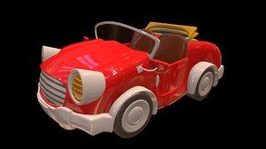 3D model car 01 cartoons