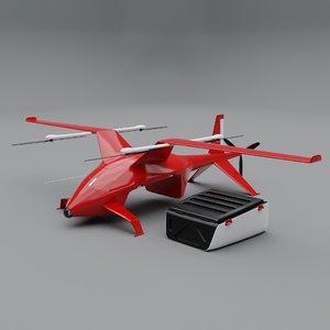 3D cargo drone zelator-28