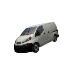 nissan nv200 vehicle 3D model