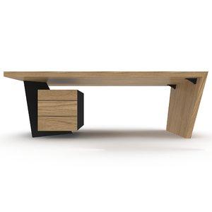 designer table 3D model