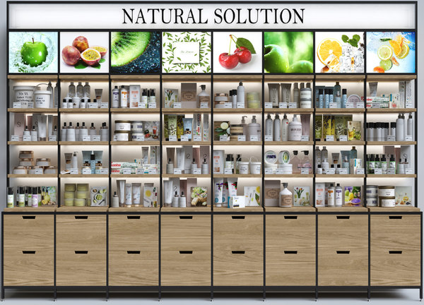 pharmacies cosmetics 3D model