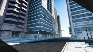 city block 5 3D model