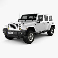 jeep wrangler unlimited 3D