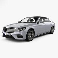 mercedes-benz s-class s 3D model