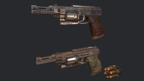 3D weapon gun pistol