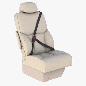 cessna seat 3D model