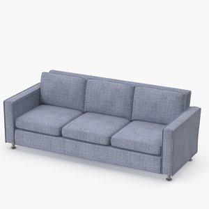 classic family sofa 3D