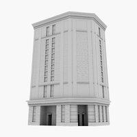 3D commercial highrise