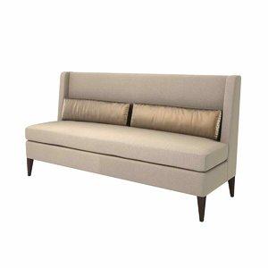 3D model sofa bespoke chair company
