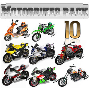 motorbikes pack model