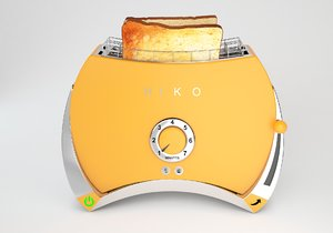 3D bread toaster