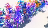 Glowing Flower Animated Pack