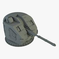 3D ak-176 76 gun
