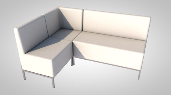 3D model contemporary sofa