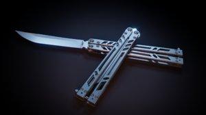 3D model brs barebones
