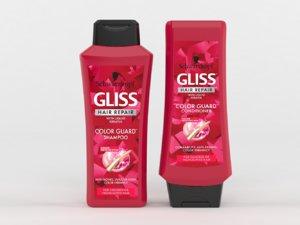 3D gliss hair repair color