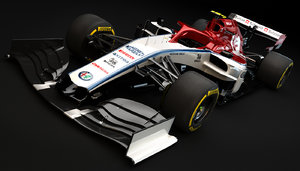alfa romeo racing c38 3D
