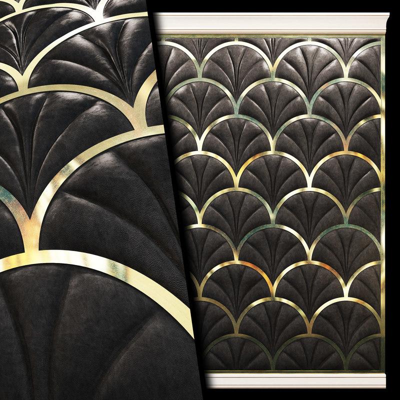 wall panel soft 3D