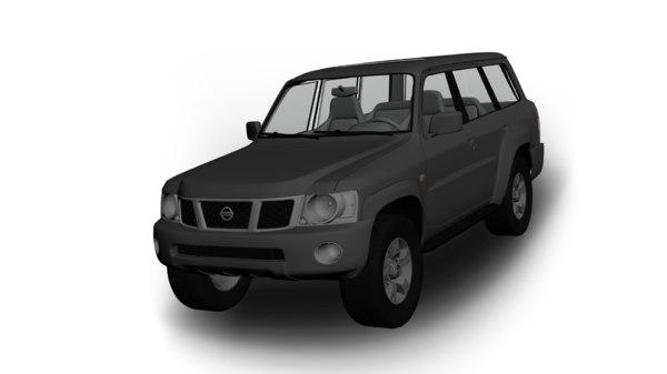 3D nissan patrol 2004