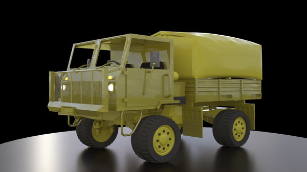 3D model truck printing