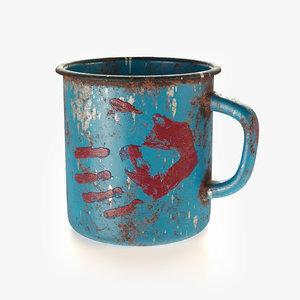 3D cup post apocalypse