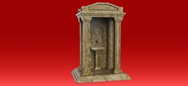old style fountain model