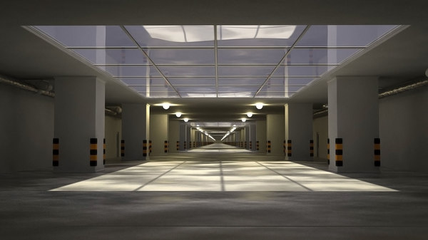 underground tunnel 3D model