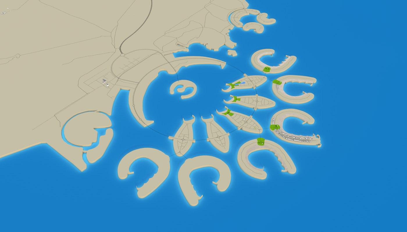 BAHRAIN 3D MODEL