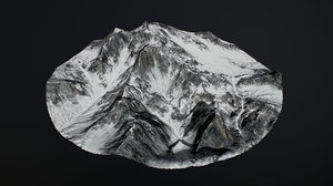 snowy mountains pack 1 3D