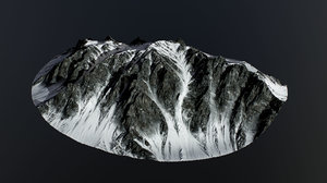 snowy mountains pack model