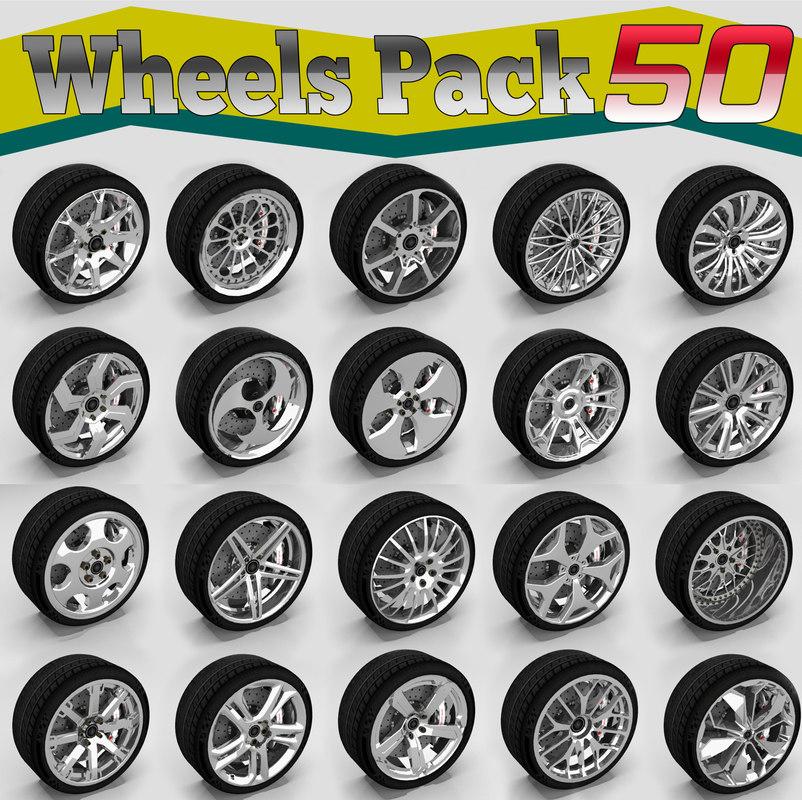 wheels sports 3D model