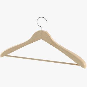 3D realistic clothes hanger