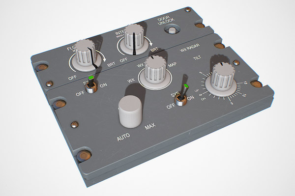 3D flood panel model