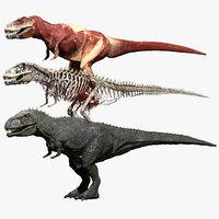 giganoto giganotosaurus saurus 3D model