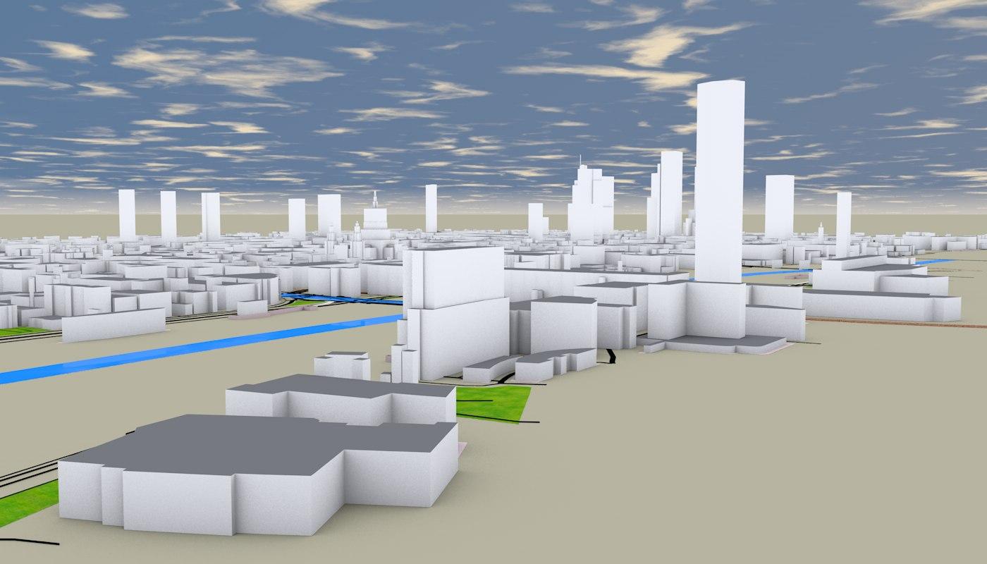LONDON 3D MODEL