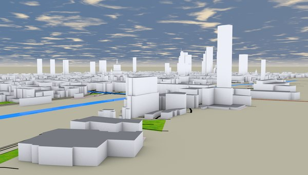 london city details mapping model