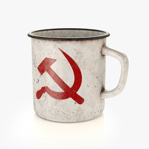 3D old cup