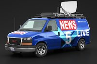 GMC Savana News Van